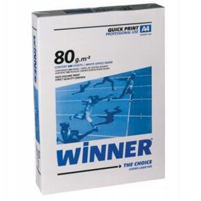 Papier Ksero WINNER GROUP A4 80G